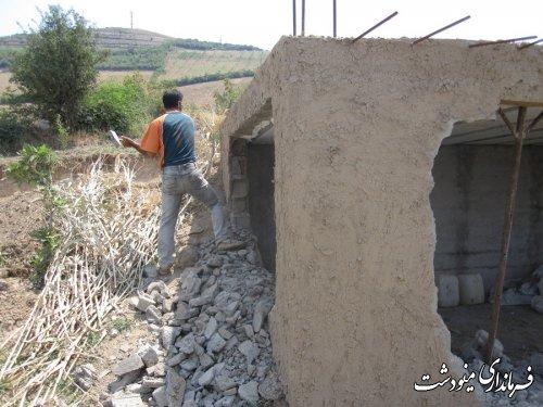 تخریب بناهای احداثی غیر مجاز در اراضی کشاورزی