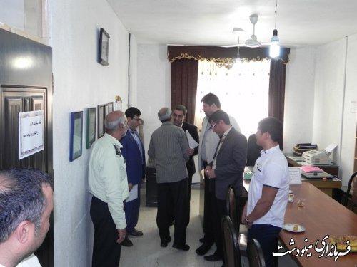 دیدار فرماندار مینودشت با پرسنل خدوم اداره ورزش و جوانان