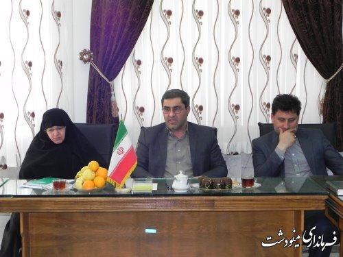 نشست منطقه ای بانوان شرق استان در مینودشت