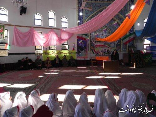 مراسم پیوند مسجد و مهدکودک بمناسبت دهه مبارک فجر انقلاب