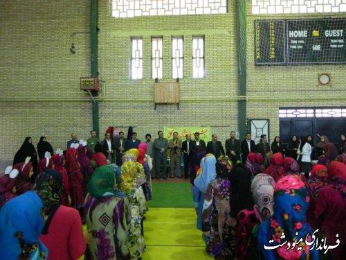 برگزاری جشنواره بازیهای بومی محلی دختران در مینودشت
