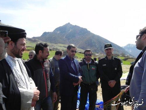 23 استان در دوازدهمین جشنواره پاراگلایدر مینودشت شرکت دارند