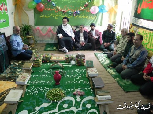 توزیع 200 بسته غذایی بمناسبت ولادت امام حسن مجتبی (ع) در یکی از پایگاه های بسیج مینودشت
