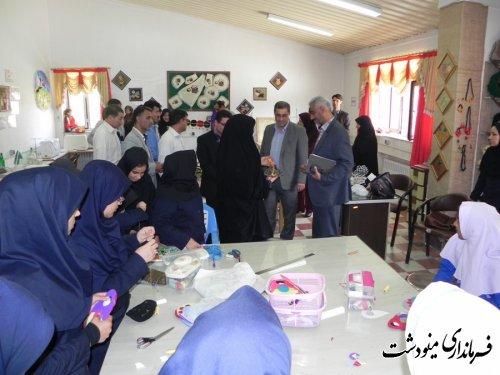 برگزاری جلسه  شورای آموزش و پرورش شهرستان مینودشت در مدرسه استثنائی باغچه بان