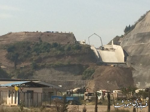 برگزاری مانور ریزش تونل و سقوط از ارتفاع در پروژه سد نرماب مینودشت