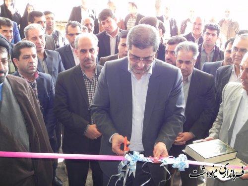 افتتاح پروژه های تعاون روستایی در شهرستان مینودشت
