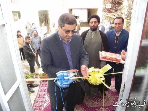 افتتاح همزمان پروژههای مسکن روستایی در شهرستان مینودشت