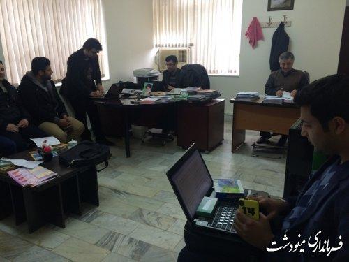 کاربران انتخابات در شهرستان مینودشت آماده مانور شدند