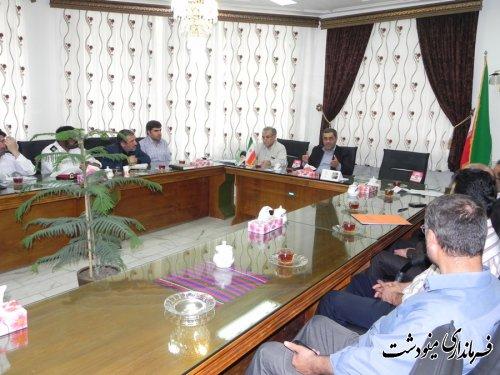 فرماندار مینودشت : تسریع در تکمیل پروژه بزرگراه و پل ورودی شهر در دستور کار است