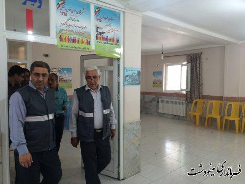بازدید فرماندار مینودشت از ستاد سرشماری عمومی نفوس و مسکن شهرستان