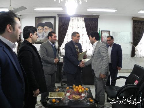 تودیع و معارفه در تعزیرات حکومتی شهرستان مینودشت