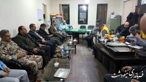 فرماندار مینودشت : مهار کامل آتش در مناطق  جنگلی شهرستان مینودشت