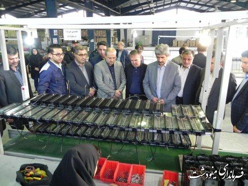 بازدید دکتر هاشمی استاندار گلستان از شهرک صنعتی و پروژه سد نرماب مینودشت