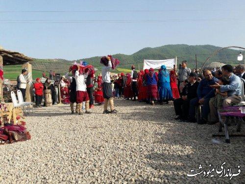 برگزاری جشن ملی نوروز گاه در مینودشت