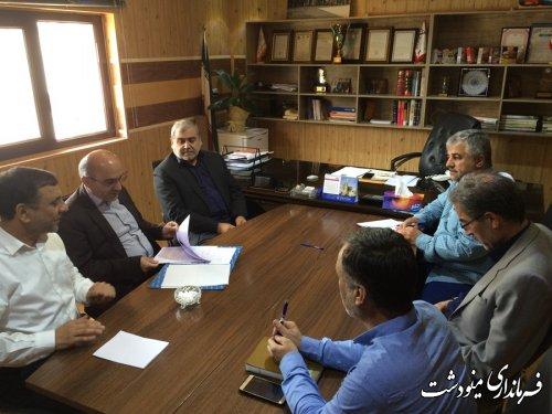 بازدید فرماندار شهرستان مینودشت از شهرک صنعتی