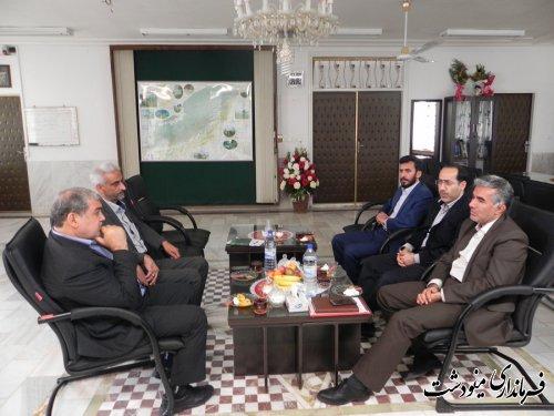 دیدار فرماندار مینودشت با مدیر کل آموزش و پرورش استان گلستان