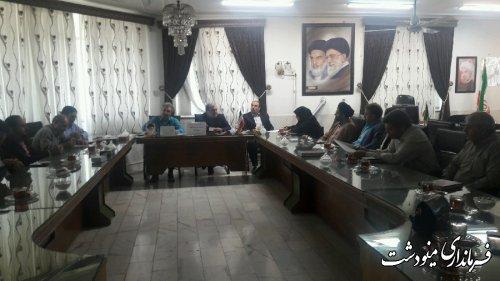 برگزاری چهارمین جلسه ستاد ساماندهی امور جوانان شهرستان مینودشت