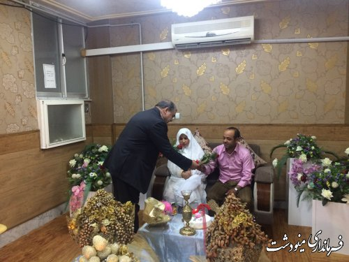 گرامیداشت سالروز ازدواج حضرت علی (ع) و حضرت فاطمه (س) در مینودشت