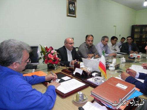 برگزاری چهارمین جلسه تنظیم بازارشهرستان مینودشت