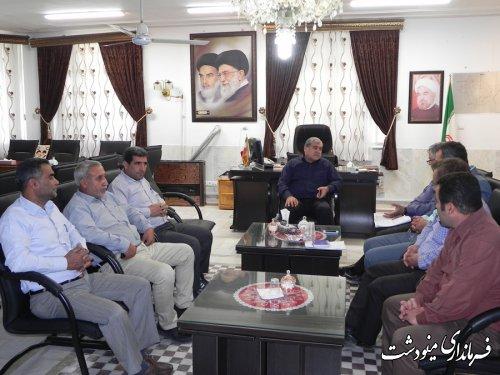 ملاقات عمومی فرماندار با مردم شریف شهرستان مینودشت برگزار شد