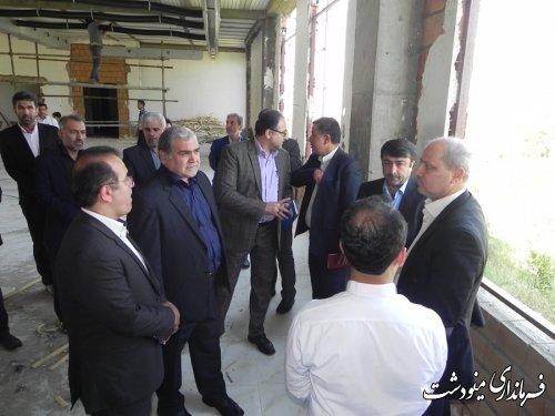 بازدید استاندار گلستان از هتل آویشن شهرستان مینودشت