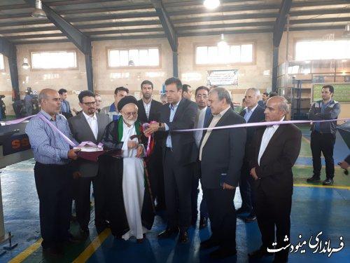 افتتاح متمرکز پروژه های عمرانی و اقتصادی شهرستان مینودشت