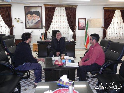 برگزاری ملاقات عمومی فرماندار مینودشت با مردم