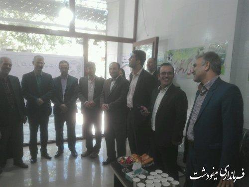 افتتاح دومین دفتر خدمات مسافرتی در مینودشت