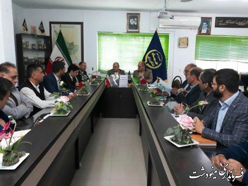 برگزاری دومین جلسه شورای کشاورزی شهرستان مینودشت