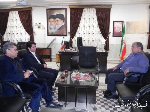 دیدار فرماندار مینودشت با مدیر کل بهزیستی استان