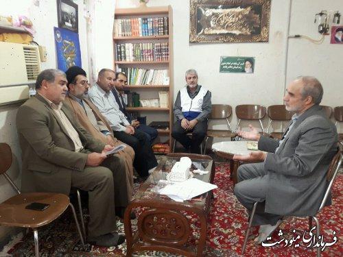 بازدید فرماندار از مهد قرآن شهرستان مینودشت