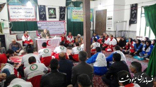 برگزاری اردوی دو روزه بقاء  در شرایط سخت در شهرستان مینودشت