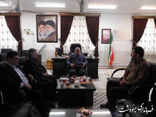 دومین جلسه مشورتی احداث چمن مصنوعی استادیوم شهید اقبالی مینودشت