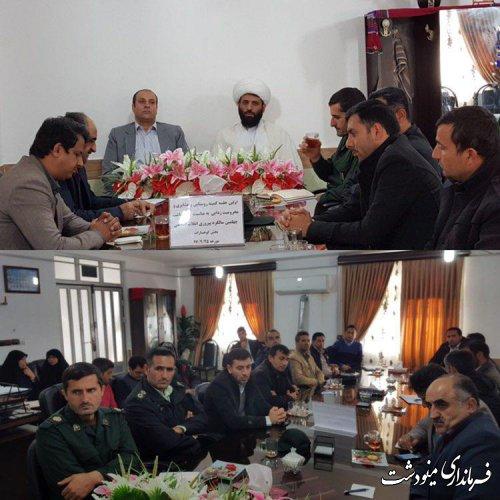 اولین جلسه کمیته روستایی و عشایری به مناسبت بزرگداشت چهلمین سالگرد پیروزی انقلاب اسلامی