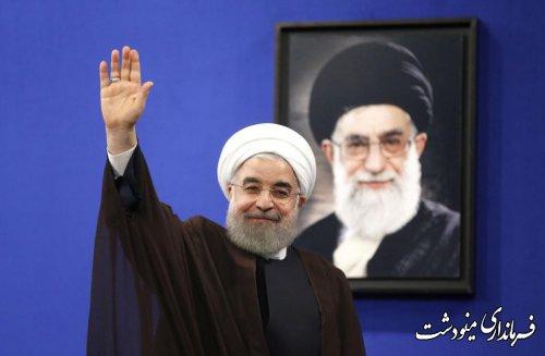 حضور ریاست محترم جمهوری اسلامی ایران روز دوشنبه 24 دیماه ساعت 9 صبح استادیوم ورزشی تختی شهرستان گنبد