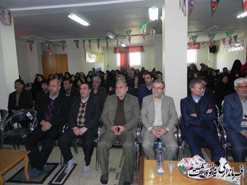 جشن انقلاب در کمیته امداد امام خمینی (ره) با حضور فرماندار