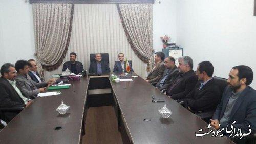 فرماندار مینودشت : شورای اسلامی نماد مشارکت مردم در پیشبرد برنامه های جامعه است.