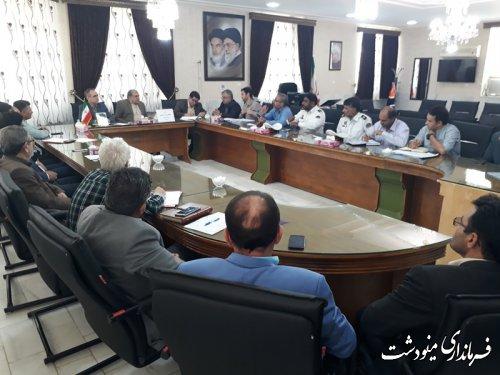 جلسه شورای هماهنگی امور ترافیکی شهرستان