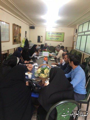 جلسه برنامه ريزي برگزاري جشنواره فرهنگ و اقتصاد روستا
