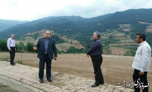 بازدید فرماندار از روستای لیسه