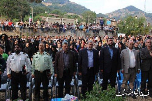 جشنواره فرهنگ و اقتصاد روستا در مینودشت برگزار شد