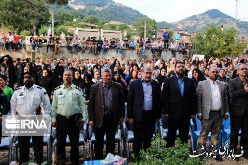 جشنواره فرهنگ و اقتصاد روستا در مینودشت