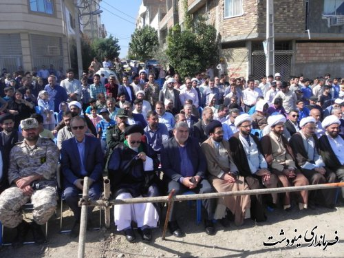 برگزاری بازسازی واقعه غدیر شهرستان مینودشت