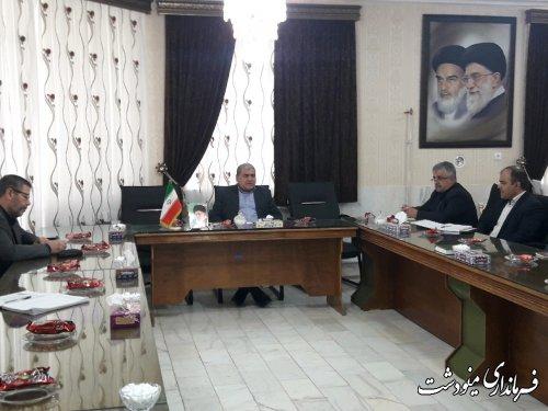 جلسه ستاد اربعین شهرستان مینودشت برگزار شد