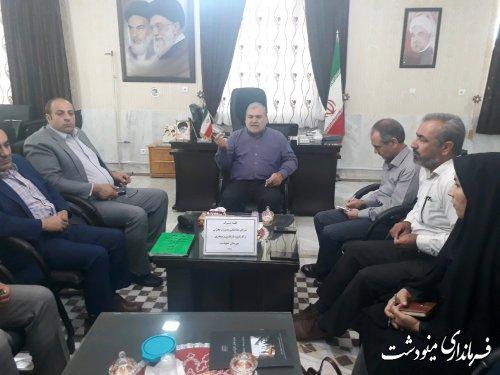 شورای هماهنگی مدریت بحران و کارگروه باز سازی و نوسازی شهرستان برگزار شد