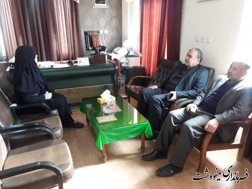بازدید سرزده فرماندار از اداره تعاون ،کار و رفاه اجتماعی