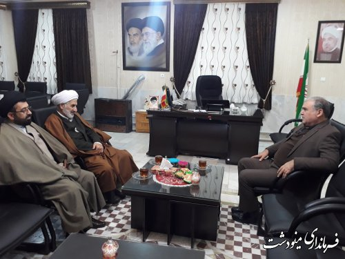 مدیر کل اداره تبلیغات اسلامی استان گلستان با فرماندار مینودشت دیدار و گفتگو کرد
