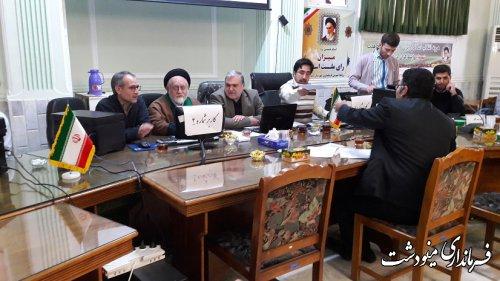 80 نفر داوطلب انتخابات مجلس شورای اسلامی حوزه انتخابیه شرق استان