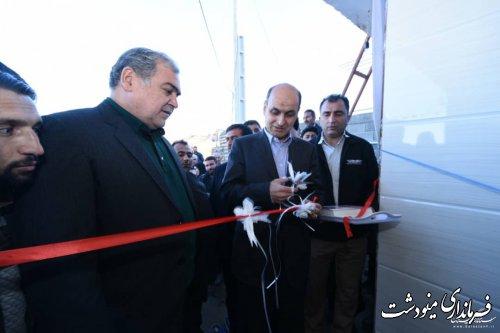 افتتاح اولین خانه بازسازی شده در روستای قلعه قافه