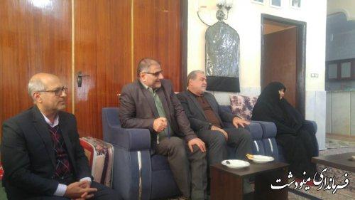 غبار روبی مزار شهید 12 دی شهرستان مینودشت